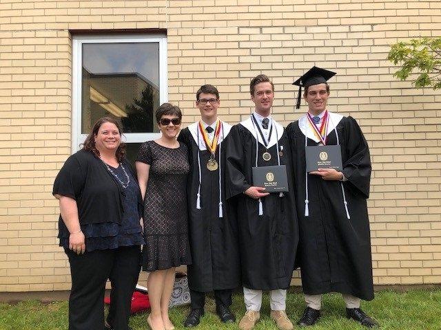 Congratulations to Xavier Grads from JPII!