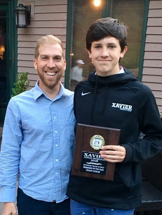 Teddy wins Xavier Award for Track