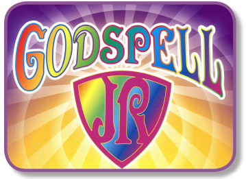 Godspell, Jr. the Musical logo